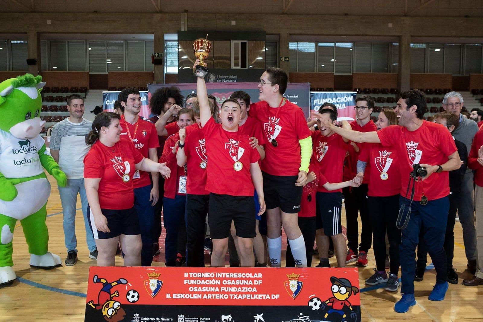 Jesuitinas consigue el Primer Premio en el II Torneo Interescolar DF de Fundación Osasuna