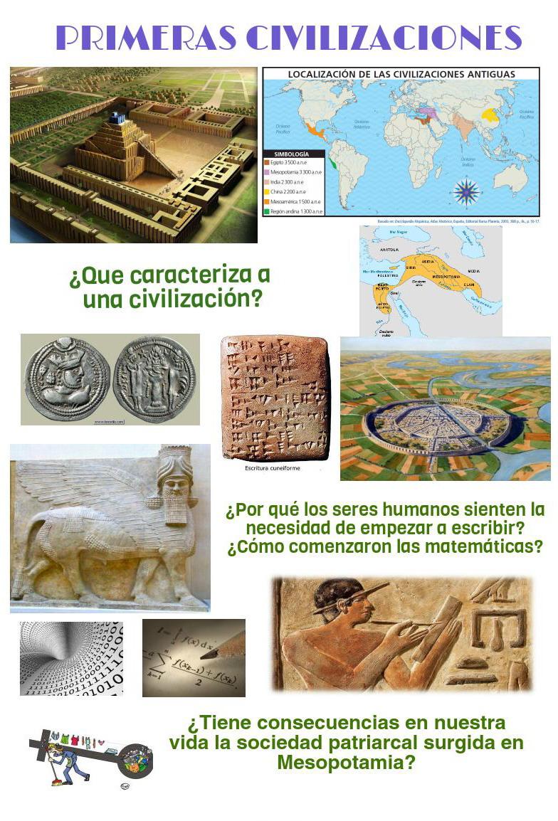 Las primeras civilizaciones, nuestro próximo objetivo.