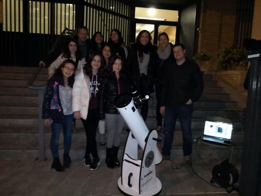 Observación de la Luna: aprendiendo Astronomía con David Vesperinas, nuestro experto