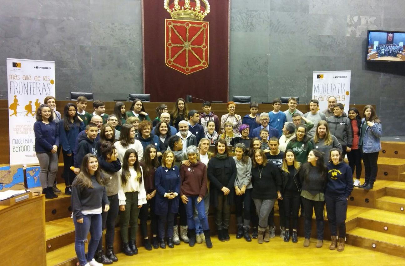 ¡¡Más allá de las fronteras…está el Parlamento de Navarra!!